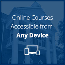 Online courses accessible from any device