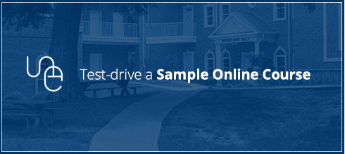 Test-drive a sample online course